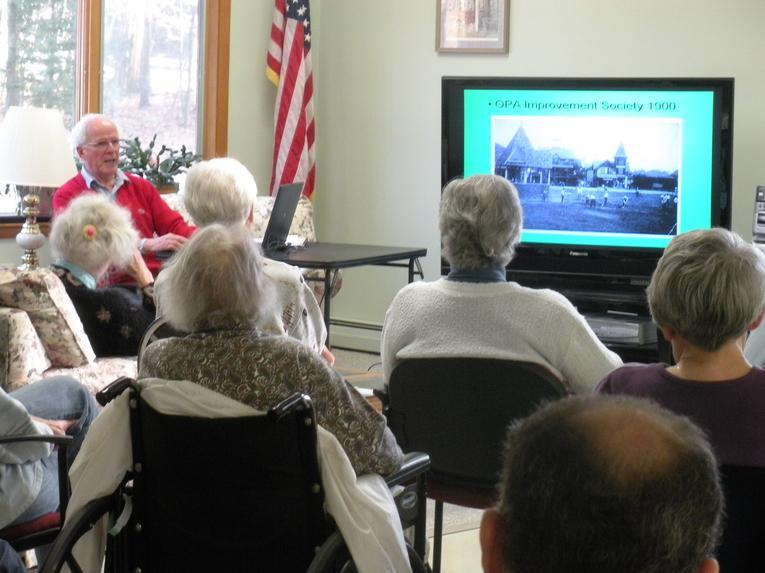 Ocean Park Historian sharing Park's history