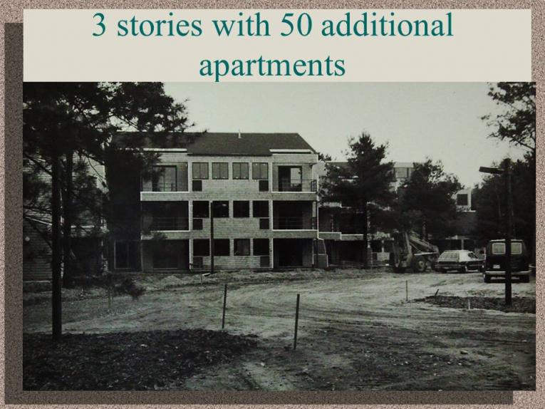 3 Stories with 50 Additional Apartments