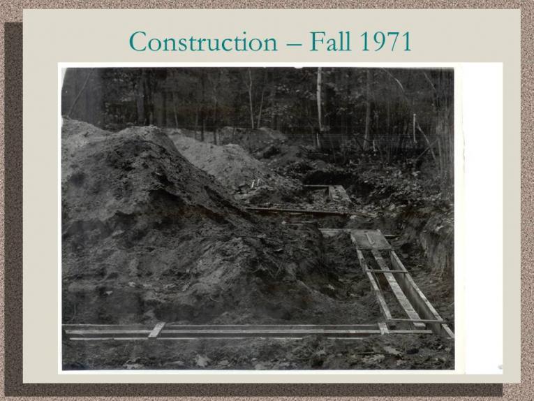 Construction - Fall 1971