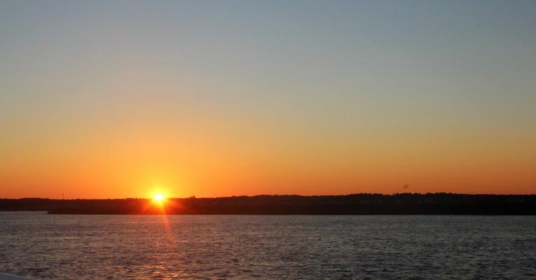 Sunset at Camp Ellis