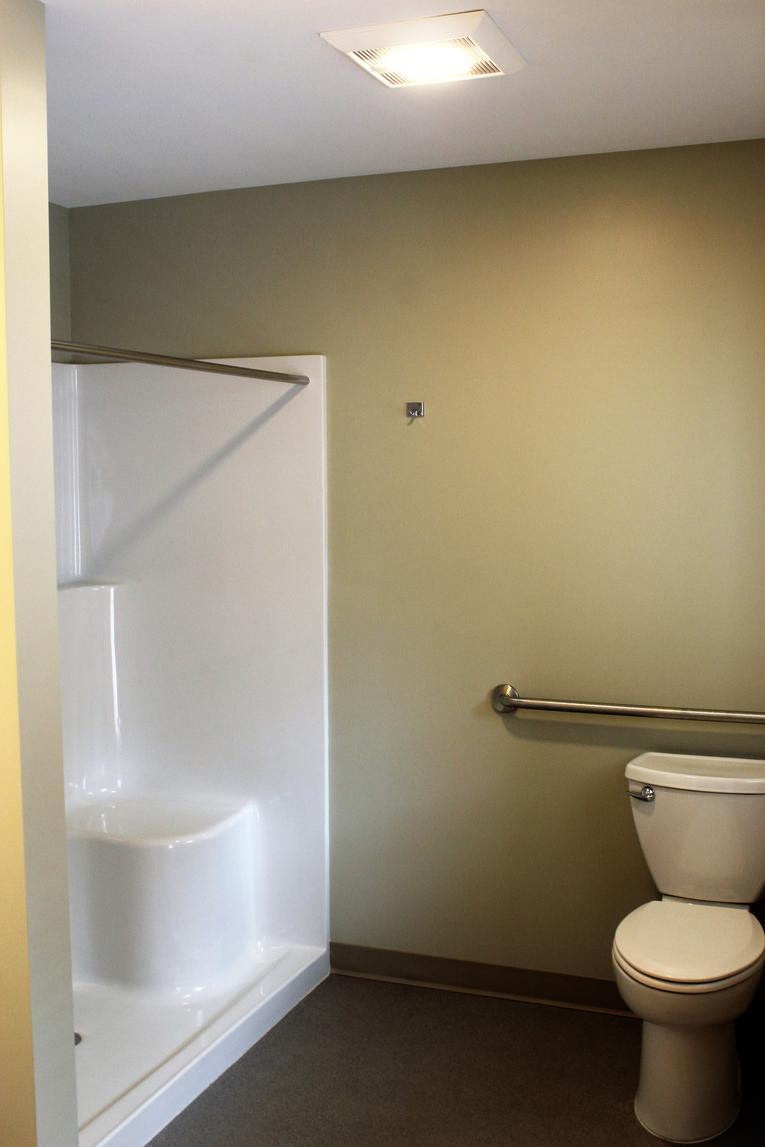 New Bathroom with Walk-in Shower