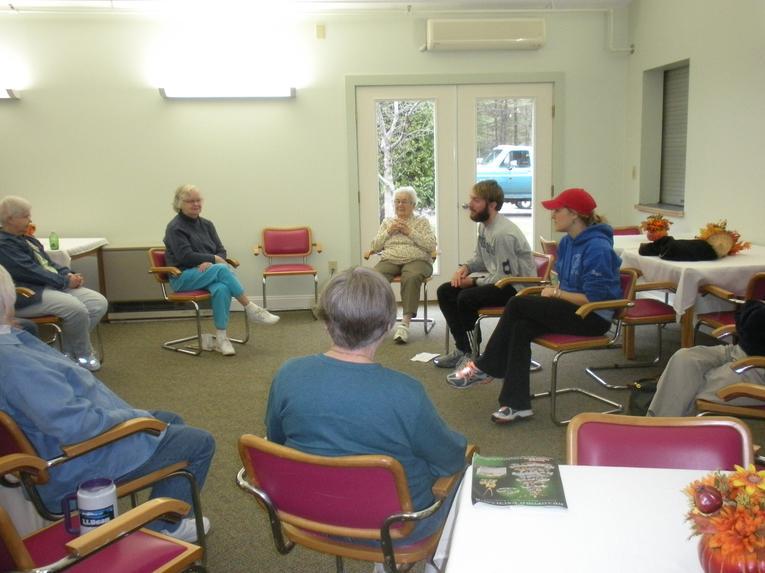 UNE Volunteers Exercise Group
