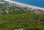 Ocean Park Beach Aerial Shot